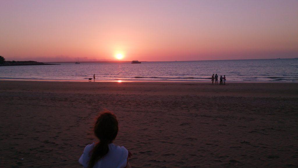 Sunset Mindle Beach Darwin NT Australia