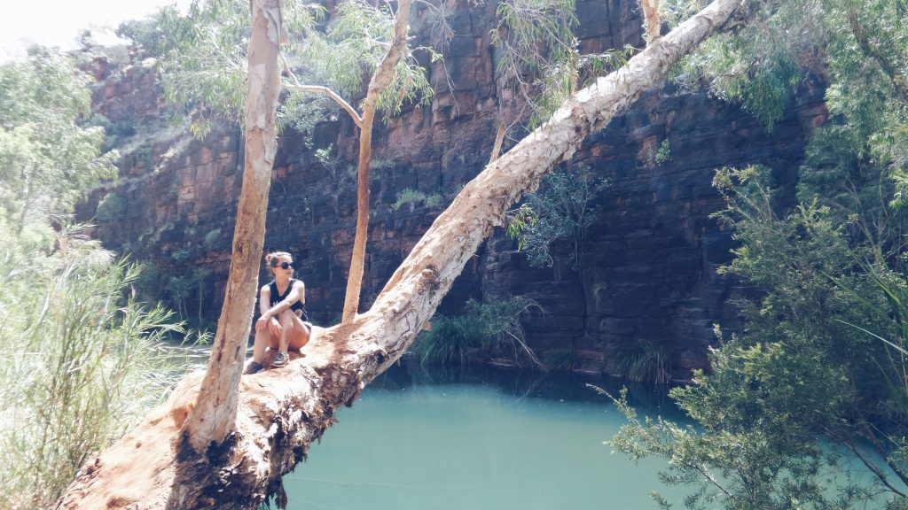 getting my Jane on Karijini NP Australia