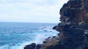 Ocean view Bondi to Coogee walk Australia