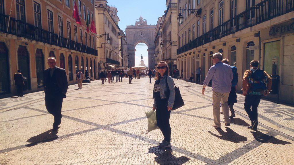 Rua da Augusta Lisbon