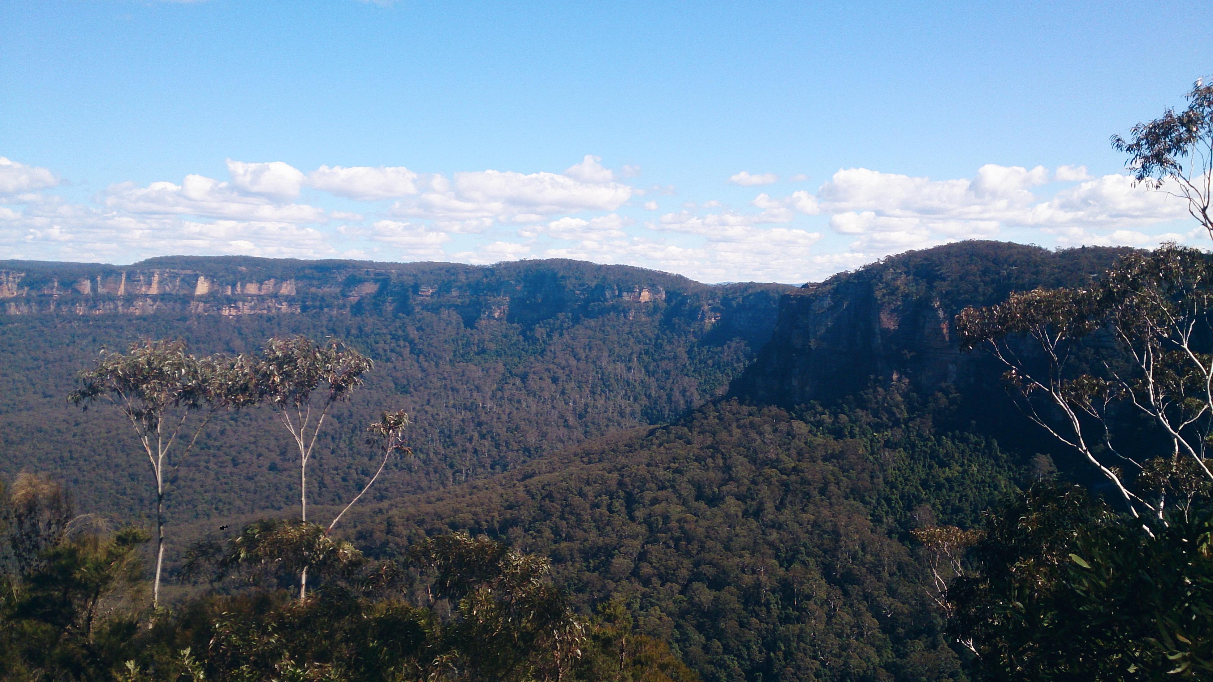 Blue Mountains lookout NSW Australia