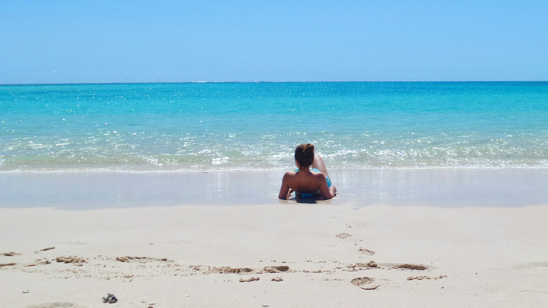Alone on Turquoise Bay Ningaloo Reef WA