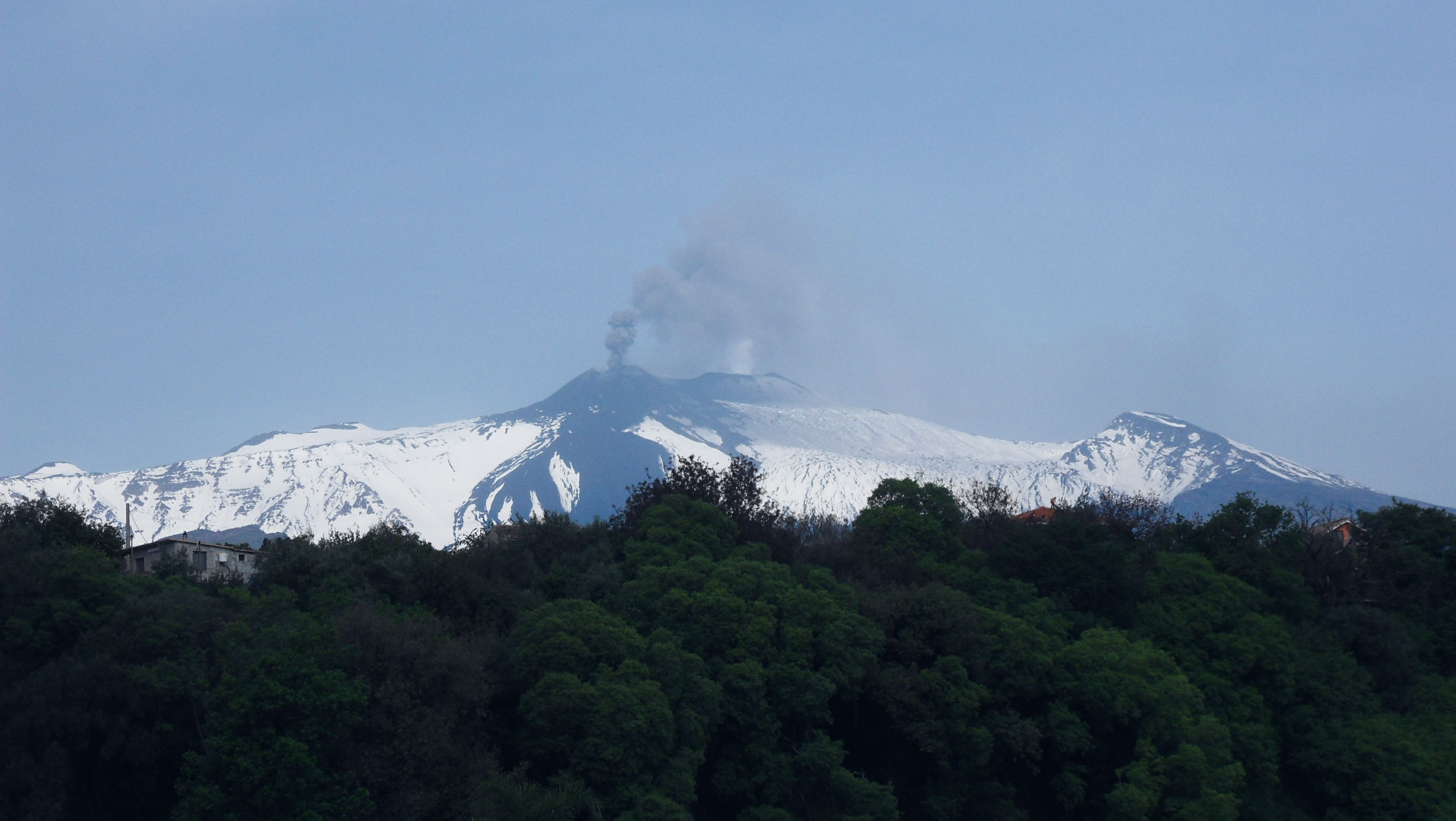 Etna Sicily most active vulcano Europe