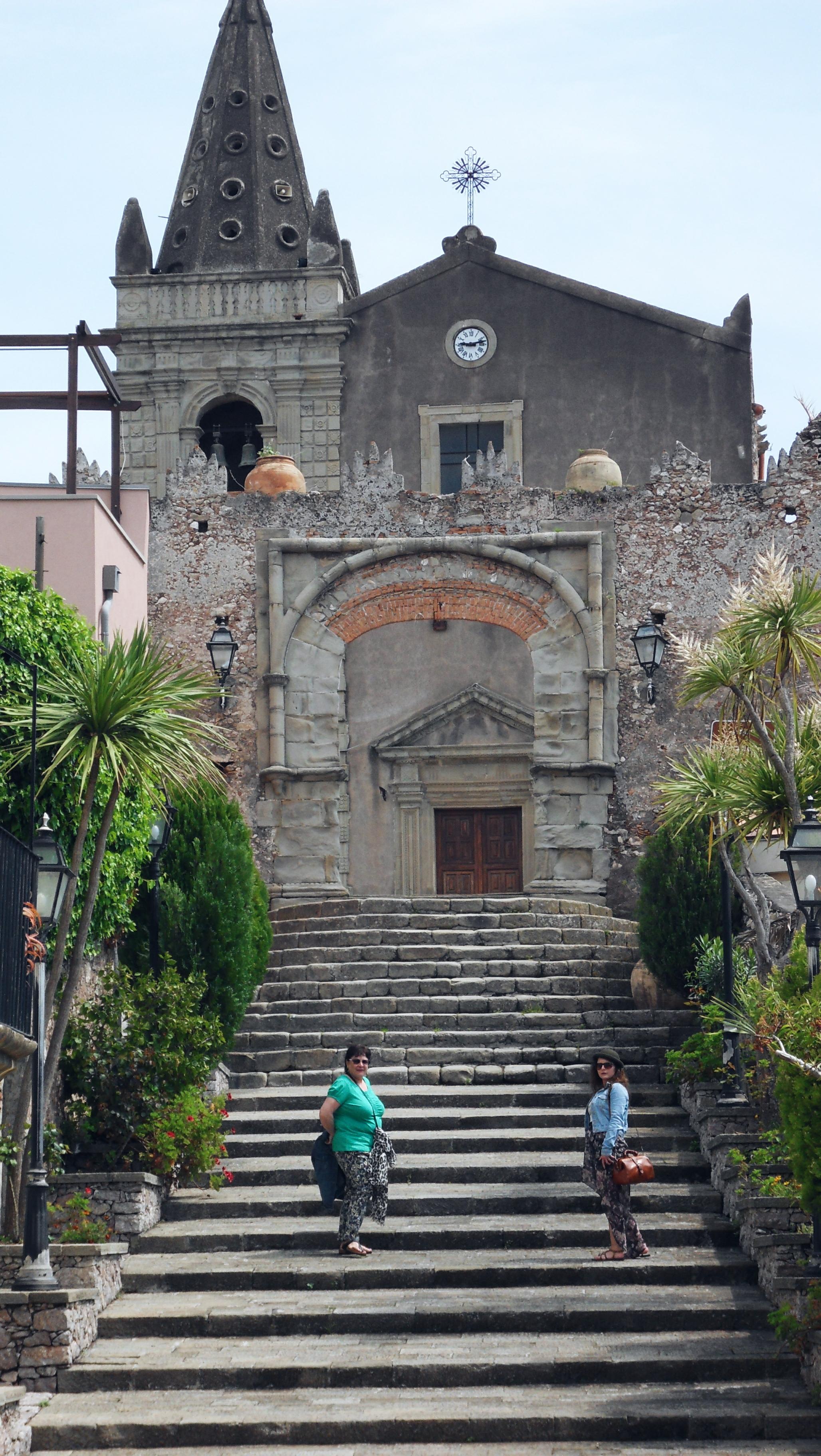 church Forza D'agro village Sicily