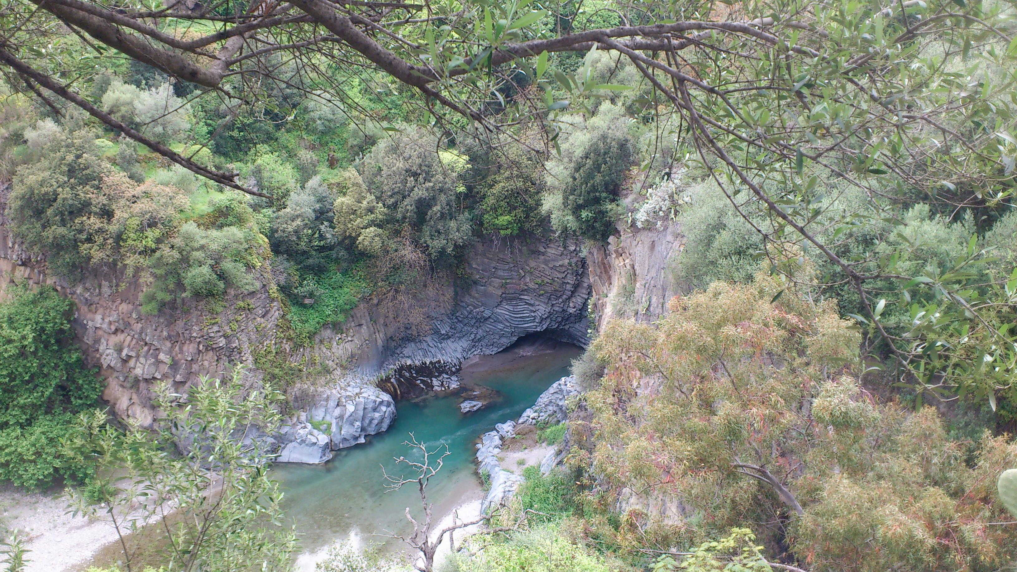 Gole dell'Alcantara Motta Camastra Italia