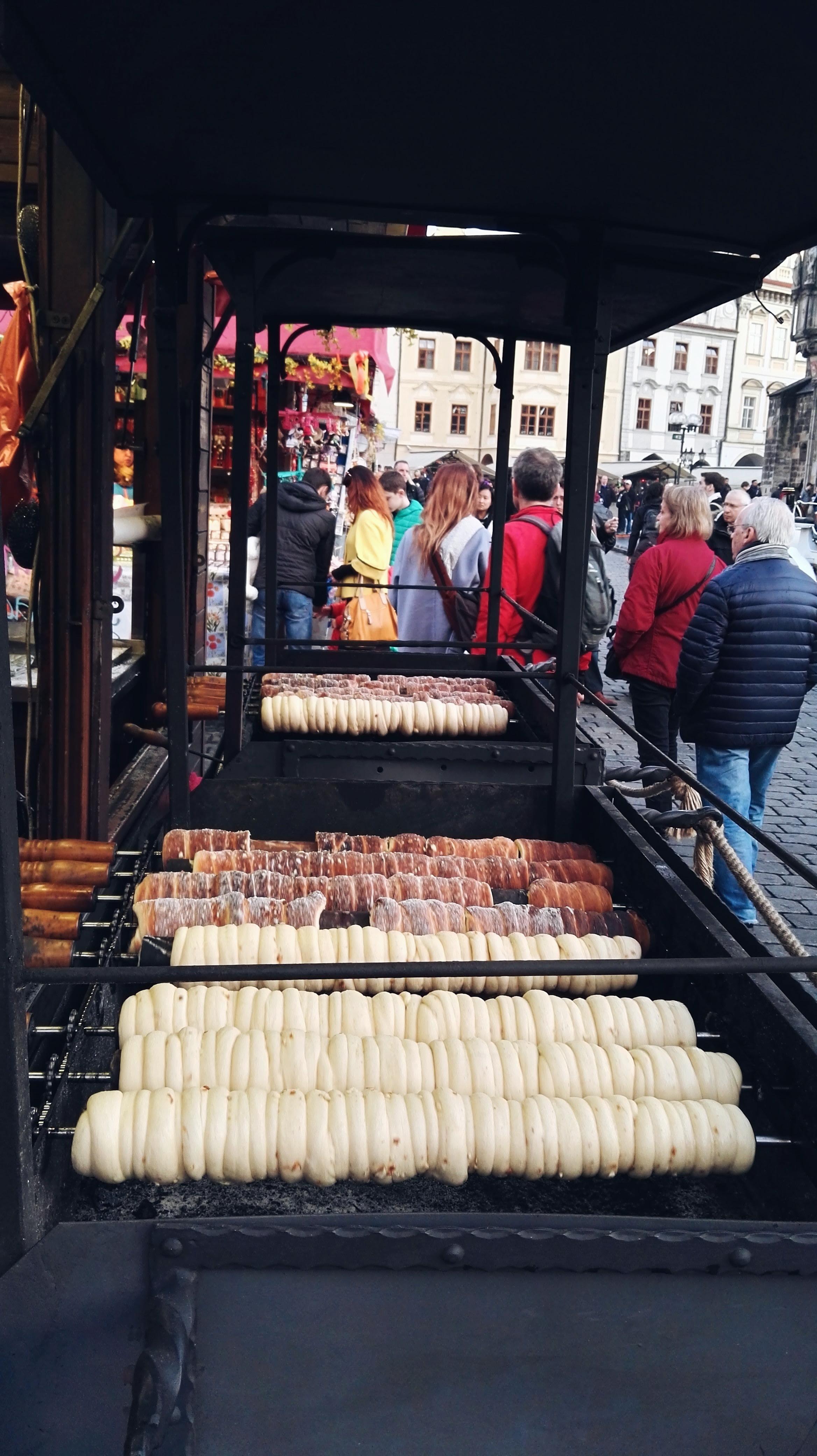 Trdelník stall Old Town Square Prague