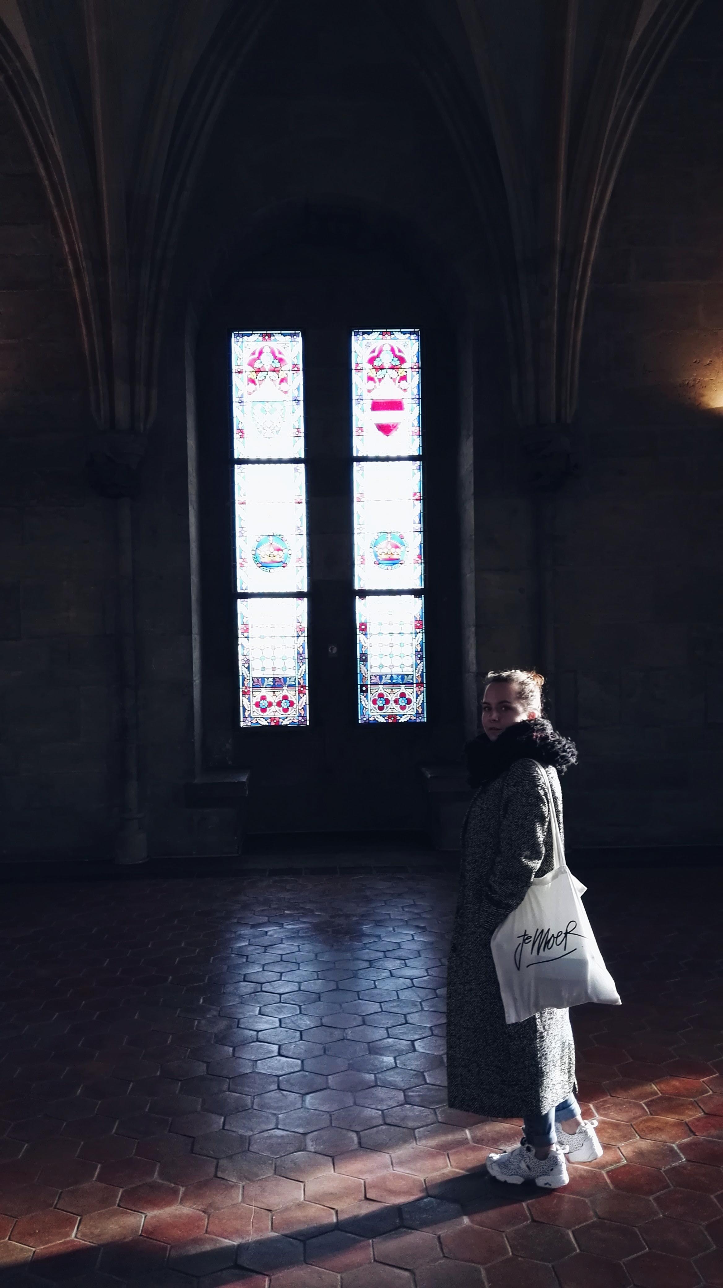 inside powder tower Prague Europe