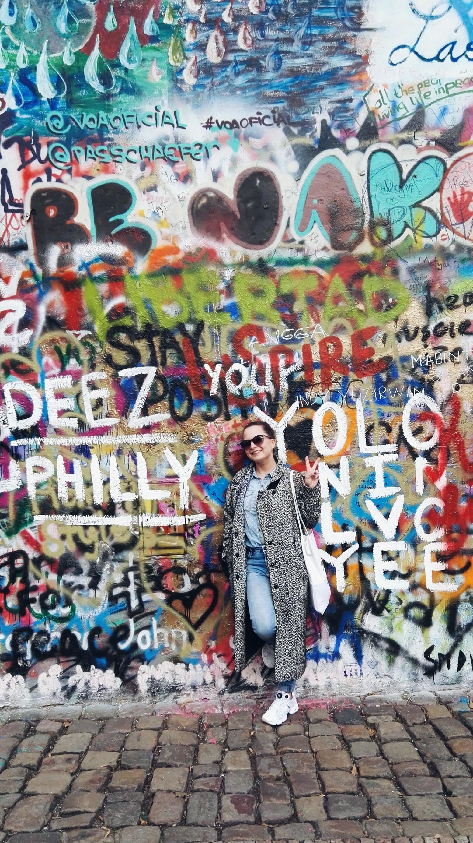 world peace freedom unity John Lennon Wall