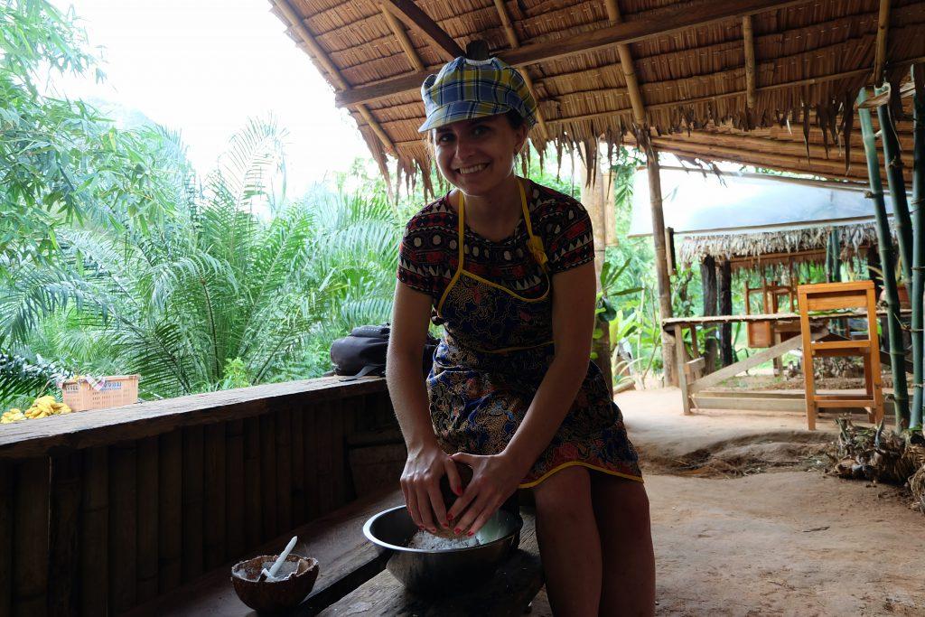 Thai cooking class Khao Sok