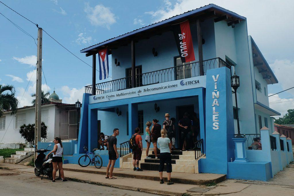 etecsa office Vinales Cuba