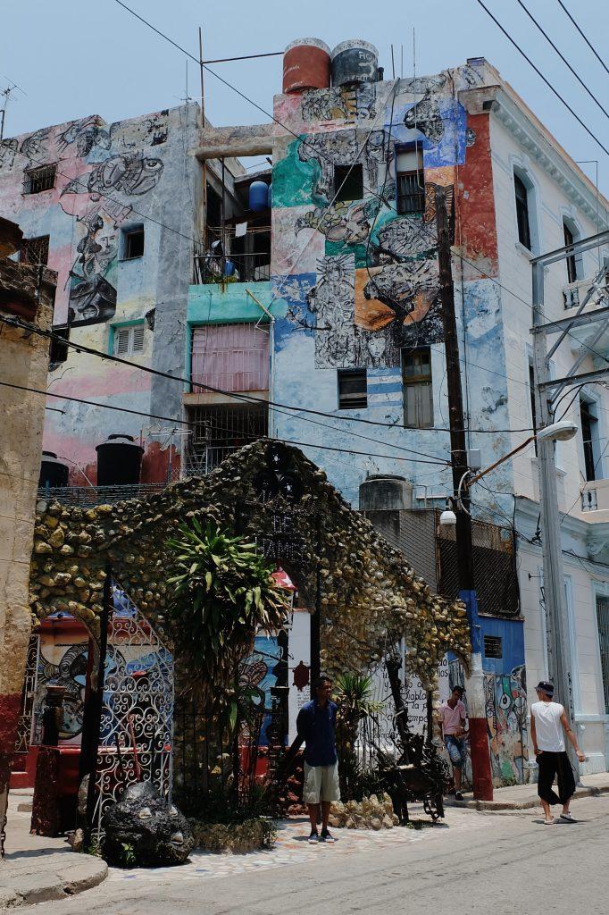 entree Callejon de Hamel Havana centro