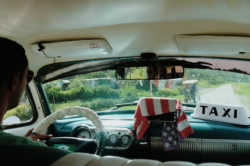 Colectivo Cuban classic taxi