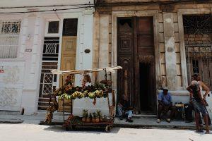 street vendors at work Centro Habana Cuba