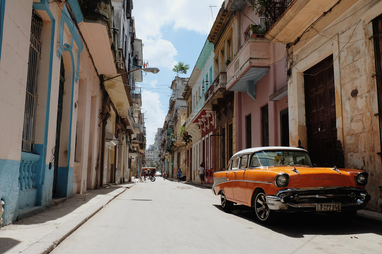 classic streetview in Centro Habana Cuba