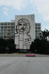 pink cadillac Plaza de la Revolucion Havana