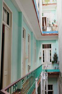 Patio casa Madelyn Havana Cuba