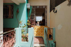 patio Hostal Gattorno Trinidad Cuba
