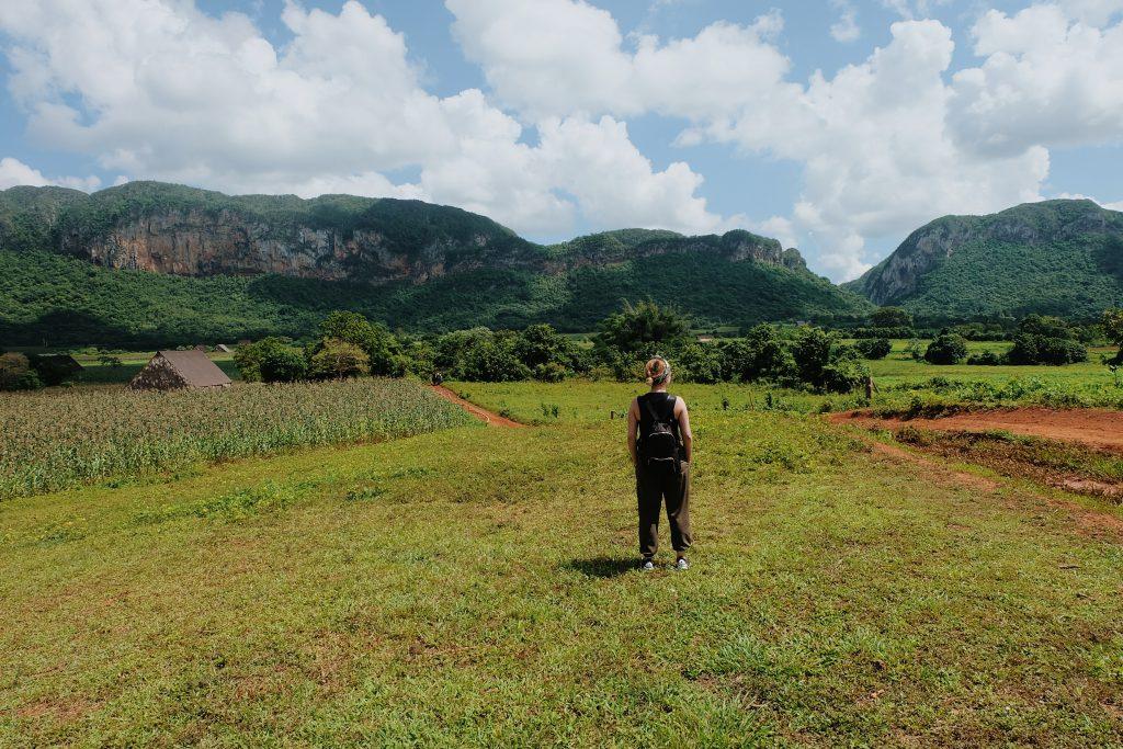 The Cuba countryside Viñales