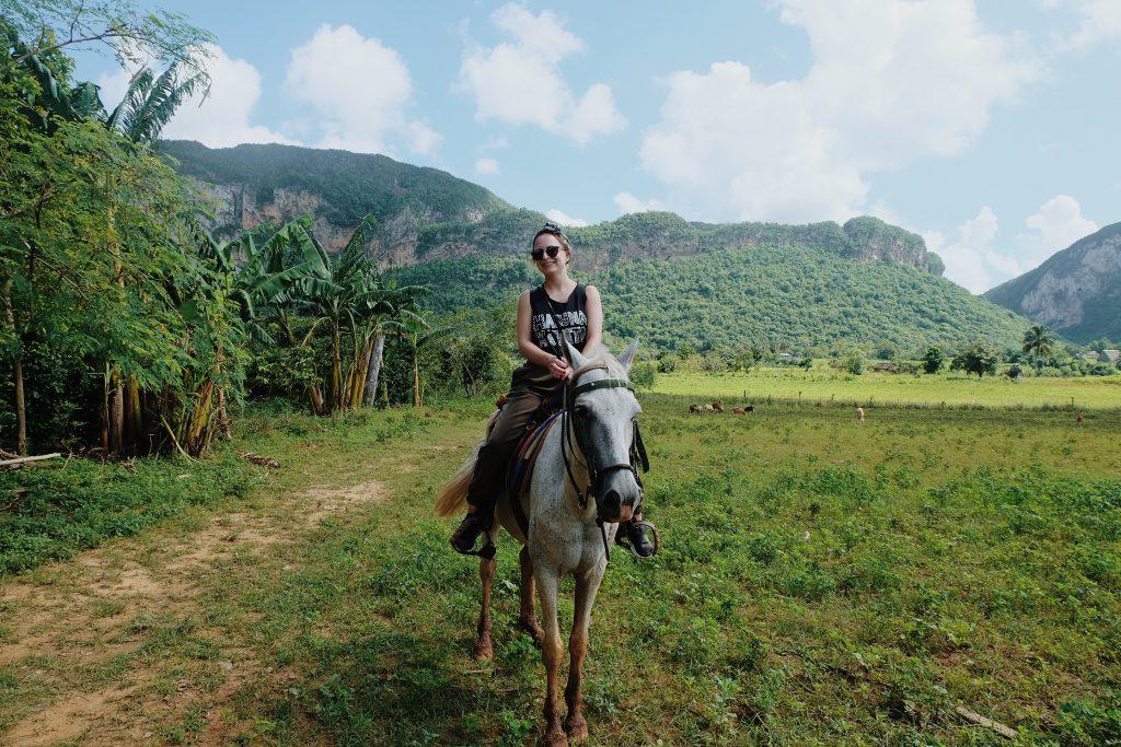 Horseback riding in Viñales Cuba