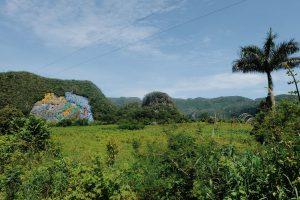famous Mural de laPrehistoria Cuba