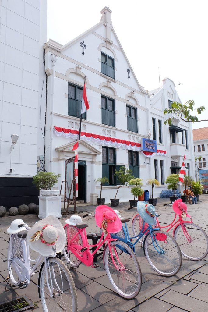 old building Kota Tua Jakarta dutch bikes