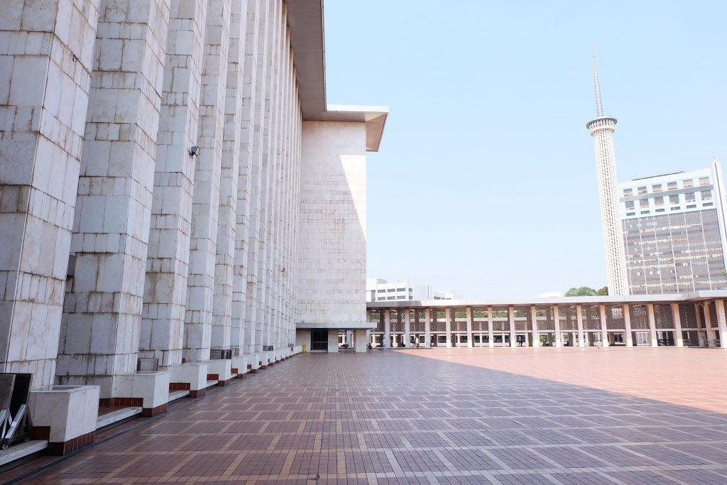 picture Masjid Istiqlal Jakarta Java