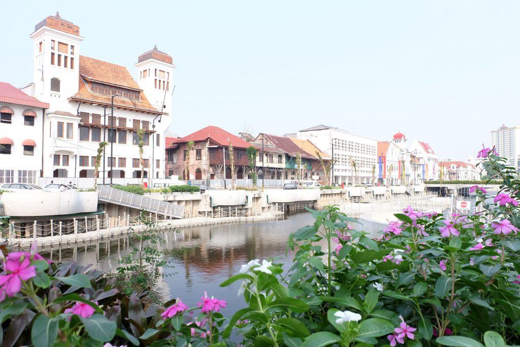 Jakarta canals Kota Tua Java