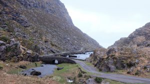 picturesque route Gap of Dunloe Ring of Kerry Ireland roadtrip