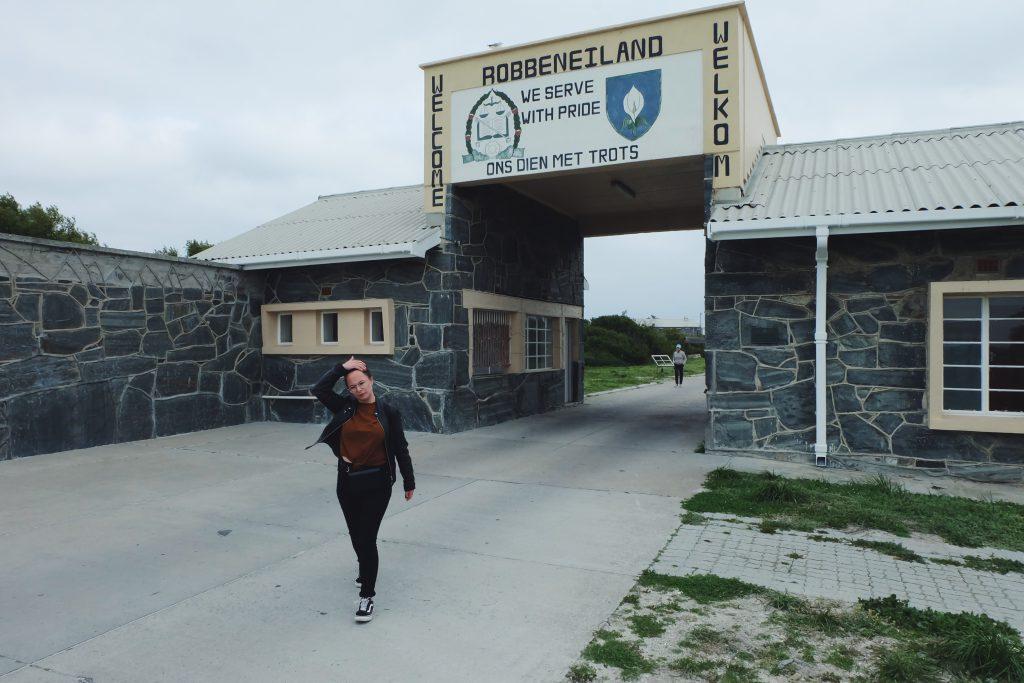 leaving Robben Island