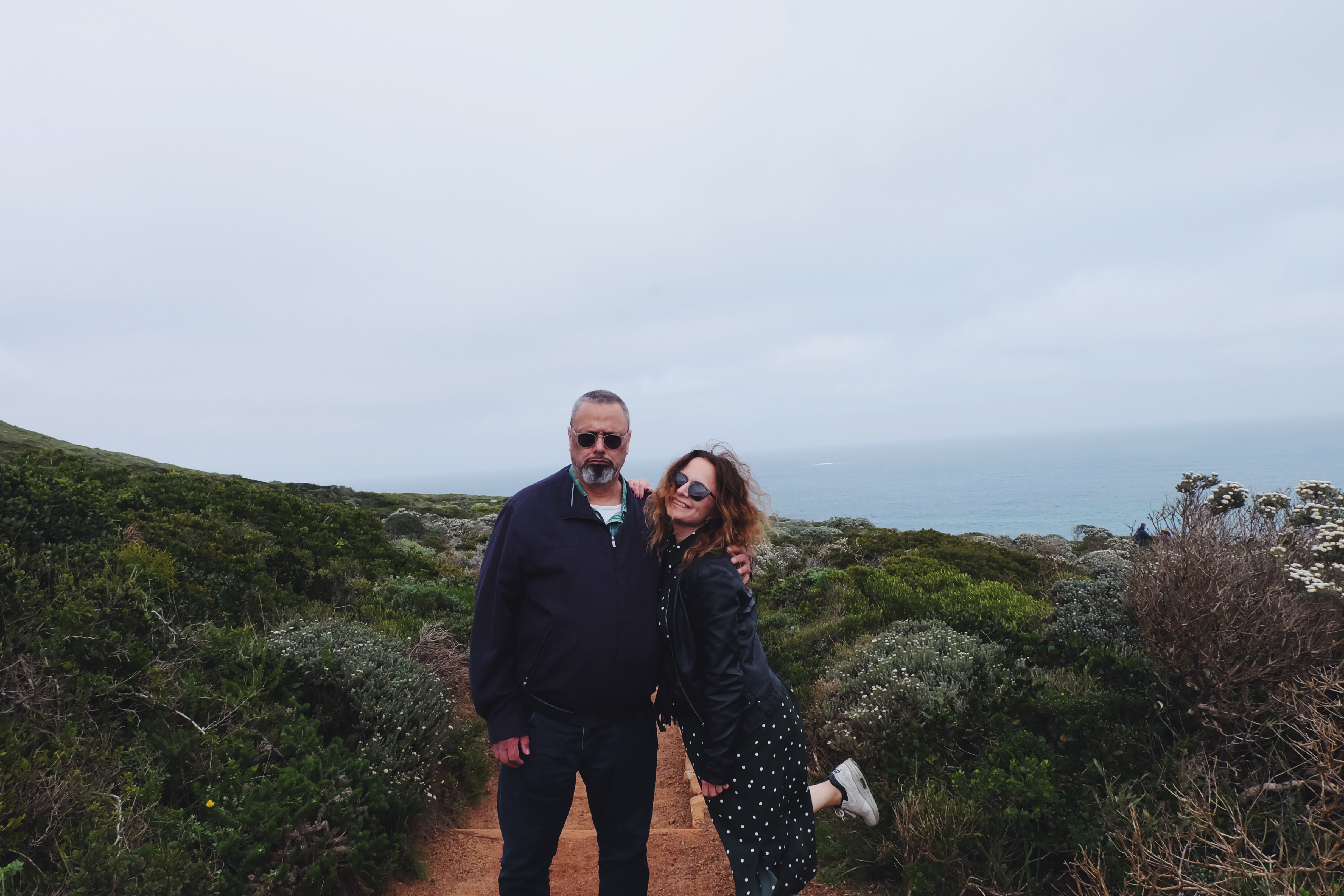hiking Cape Point South Africa