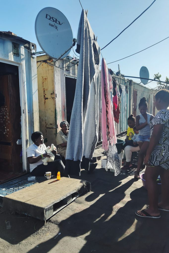 People of Langa Cape Town
