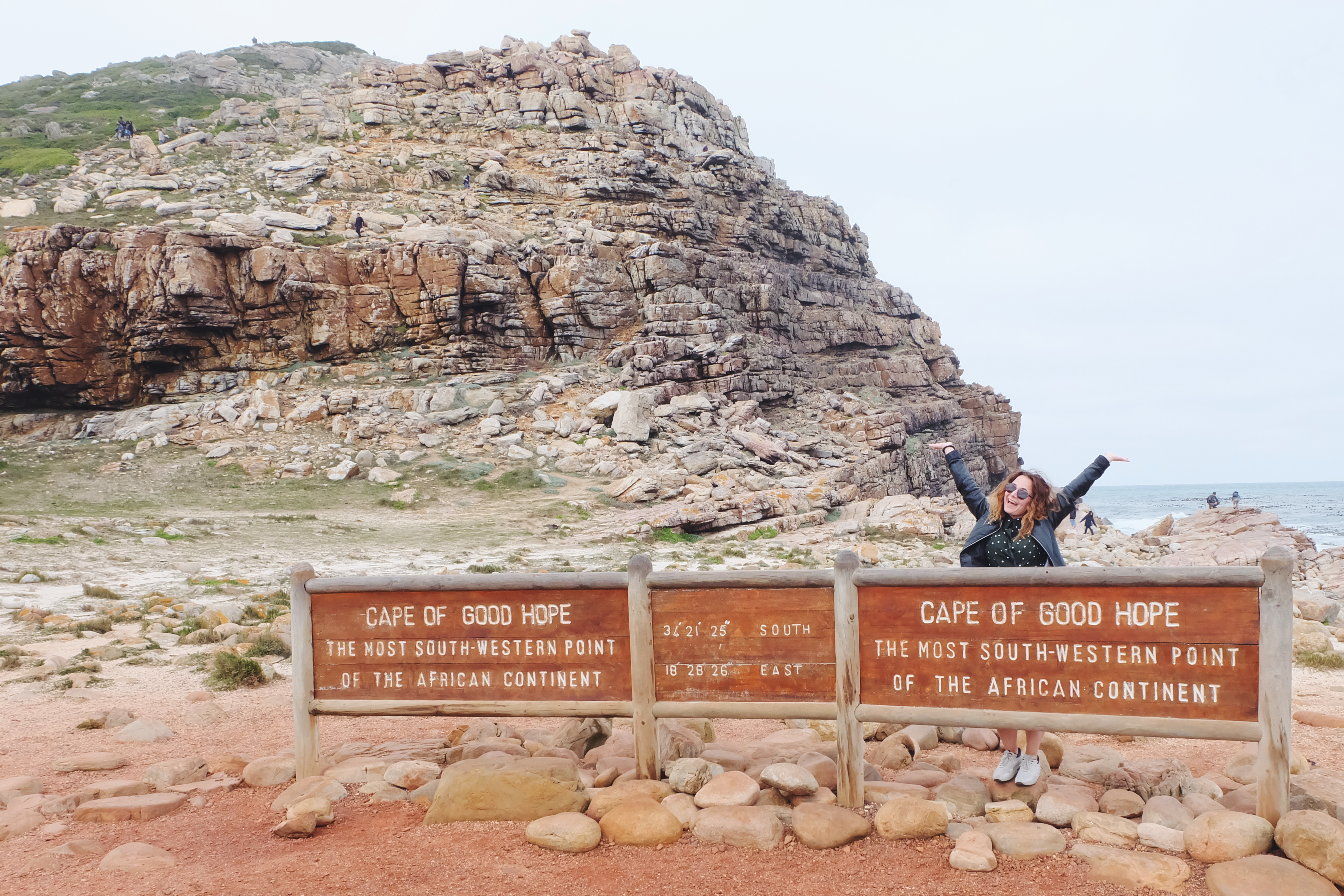famous Cape of Good Hope sign