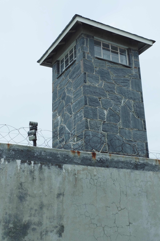 prison tower Robben Island Cape Town