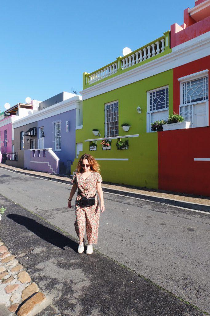 colourful houses Bo-Kaap neighbourhood Cape Town