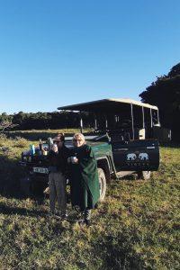 morning coffee game safari Sibuya South Africa trip