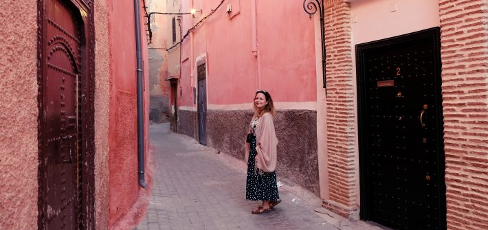 getting lost Marrakech Morocco Africa
